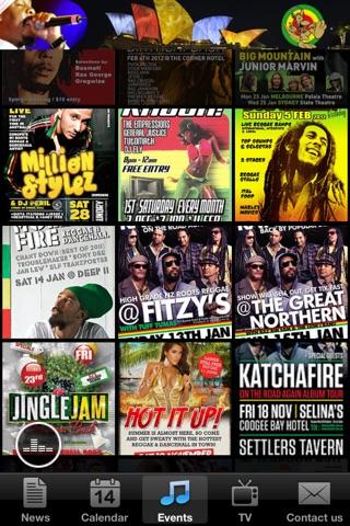 Dancehall Reggae Australasia screenshot 2