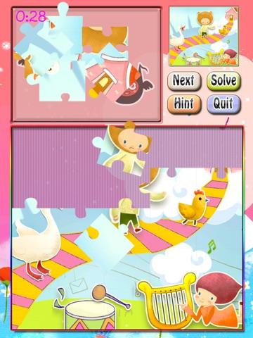 Toddler Puzzle HD Free screenshot 1