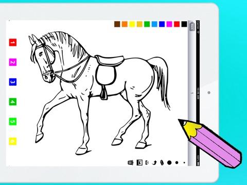 Gambar Dua Pony Mewarna Kanak Cetak 60 Gambar Kuda Di