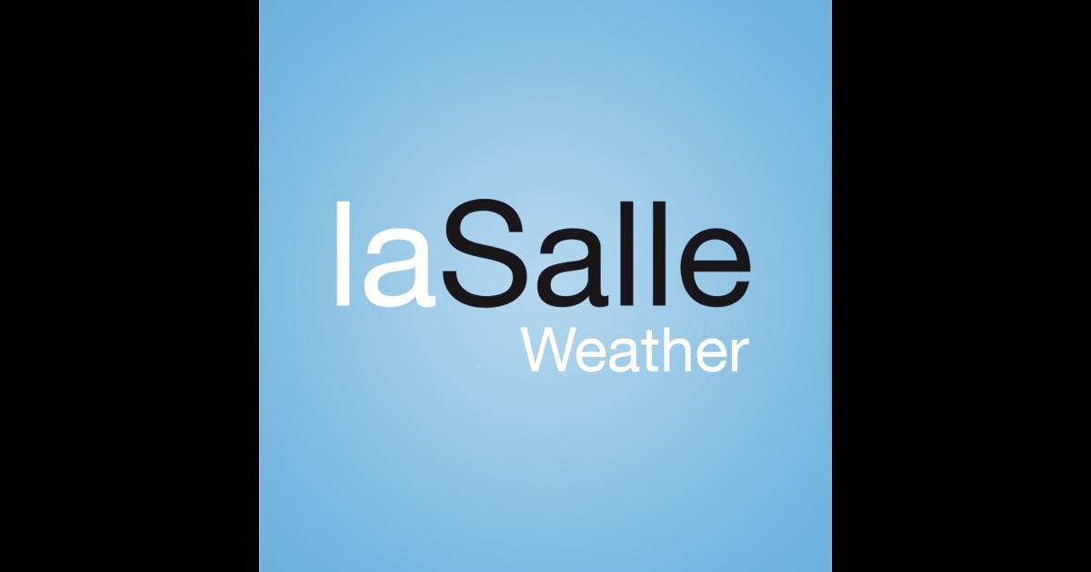 la salle weather 在 app store 上的内容
