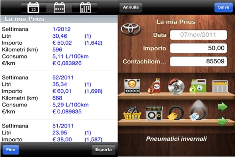 myFuelLog Lite screenshot 4