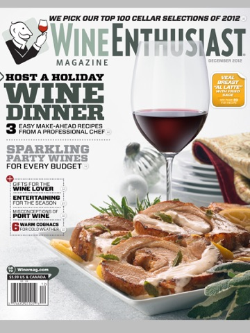 Wine Enthusiast Magazine screenshot 1
