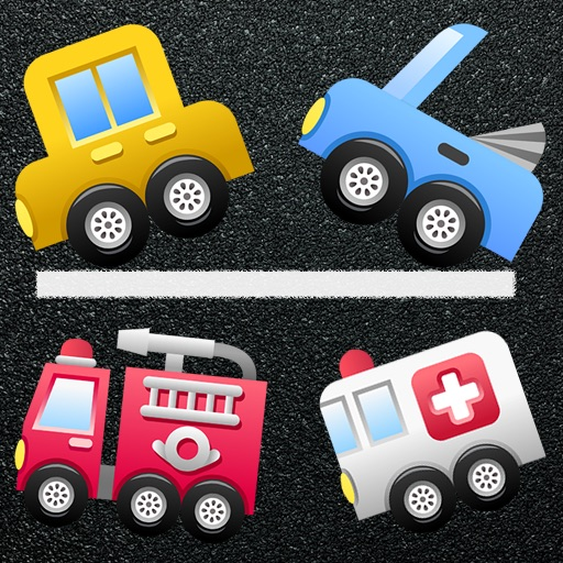 Toy Cars for Kids Icon