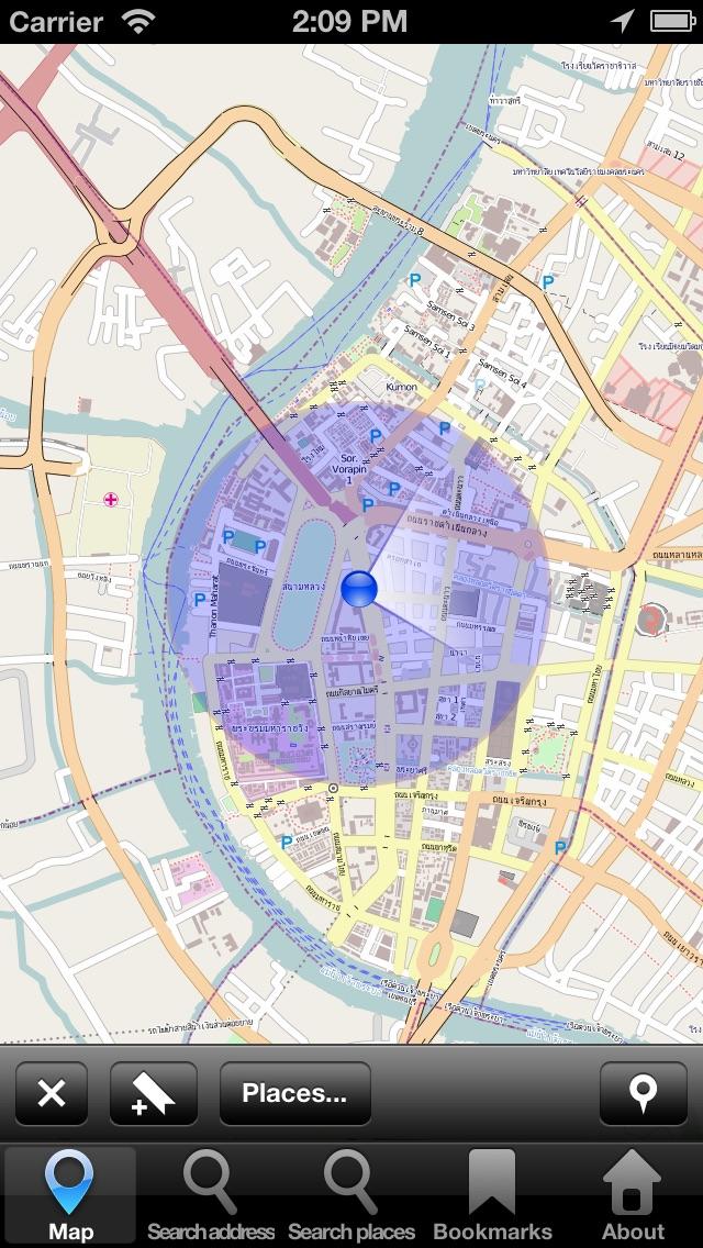 Оффлаин Карта Бангкок, Таиланд: City Navigator MapsСкриншоты 2