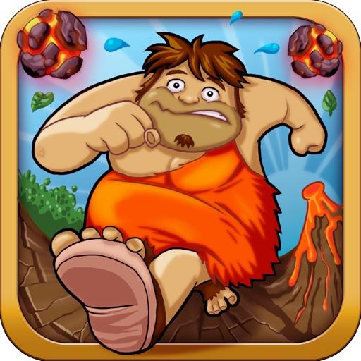 穴居人のジャングルラン:グレート恐竜脱出ゲーム - 無料版