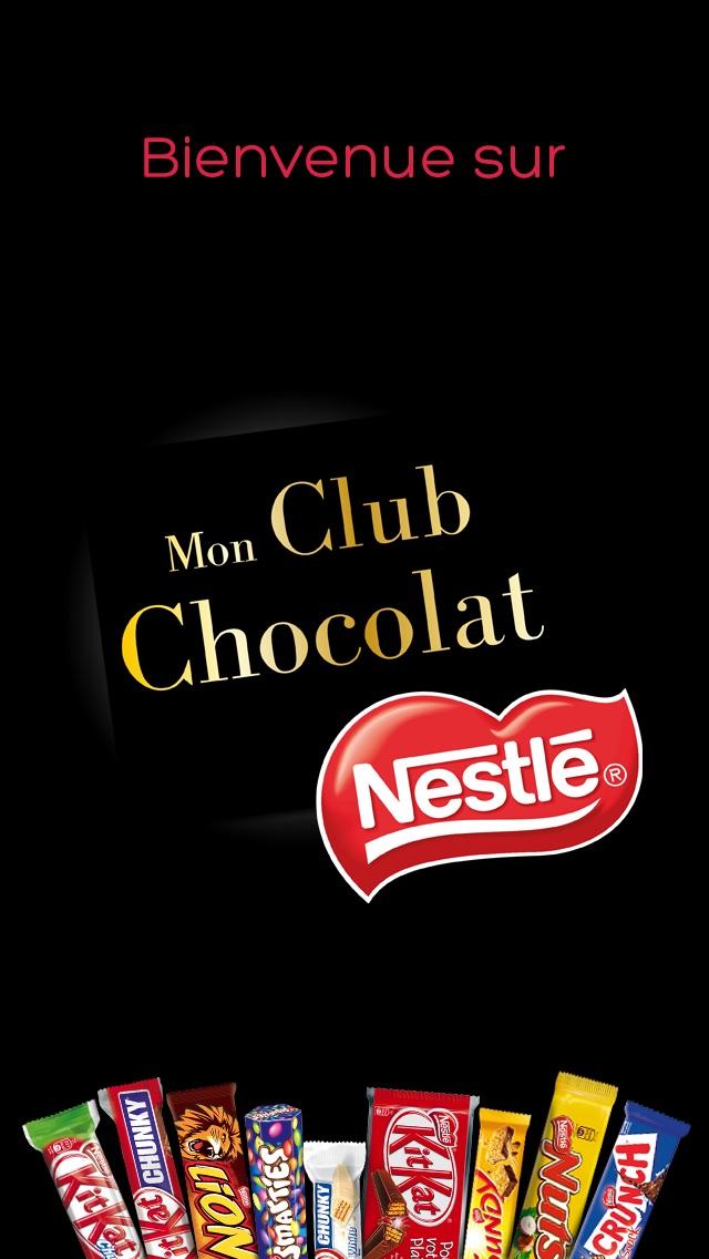 Mon Club Chocolat NESTLECapture d'écran de 3