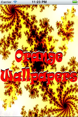 Orange Wallpapers free screenshot 1