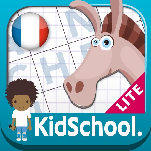 Kidschool : my first criss-cross puzzle in french LITE iOS App