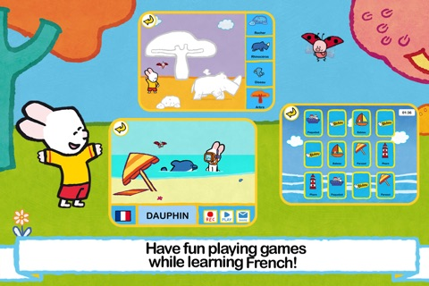I speak French with Louie! screenshot 2