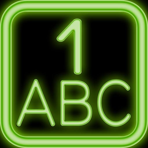 Phone for Kids iGiggle n' iDiscover Neon iOS App