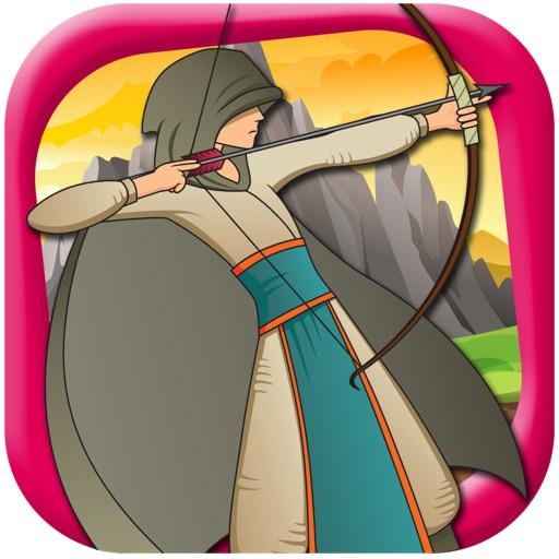 A Green Archer - Bow & Arrow Shooting Target Aim Archery Shot Game FREE iOS App
