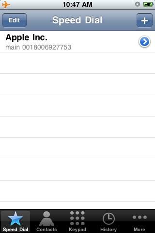 Screenshot of i247Dialer