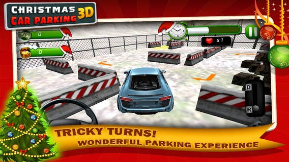 Christmas Car Parking 3D-Play Amazing & Exciting New Year Game on ...