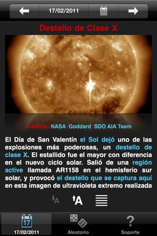 APODViewerLite - Astronomy Picture of the Day screenshot 1