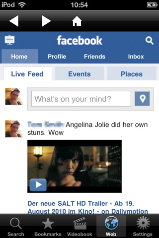 VideoTime for Facebook - Find, Play & Share Videos of your Friends Screenshot 3