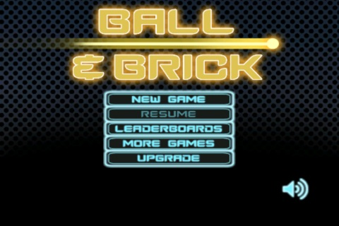 Ball & Brick Lite screenshot 1