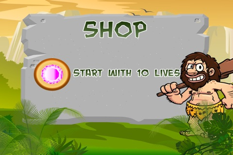 A Caveman's Dinosaur Escape : Run to the Rescue screenshot 4