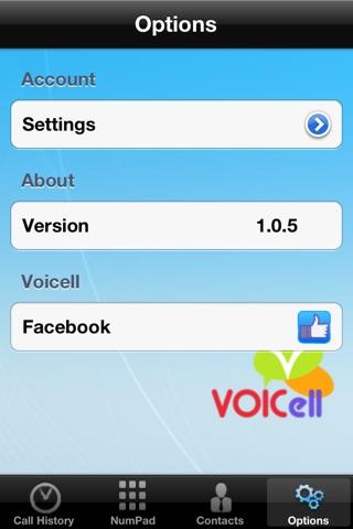 Voicell screenshot 3