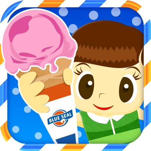 Tap Ice Cream BLUE SEAL iOS App