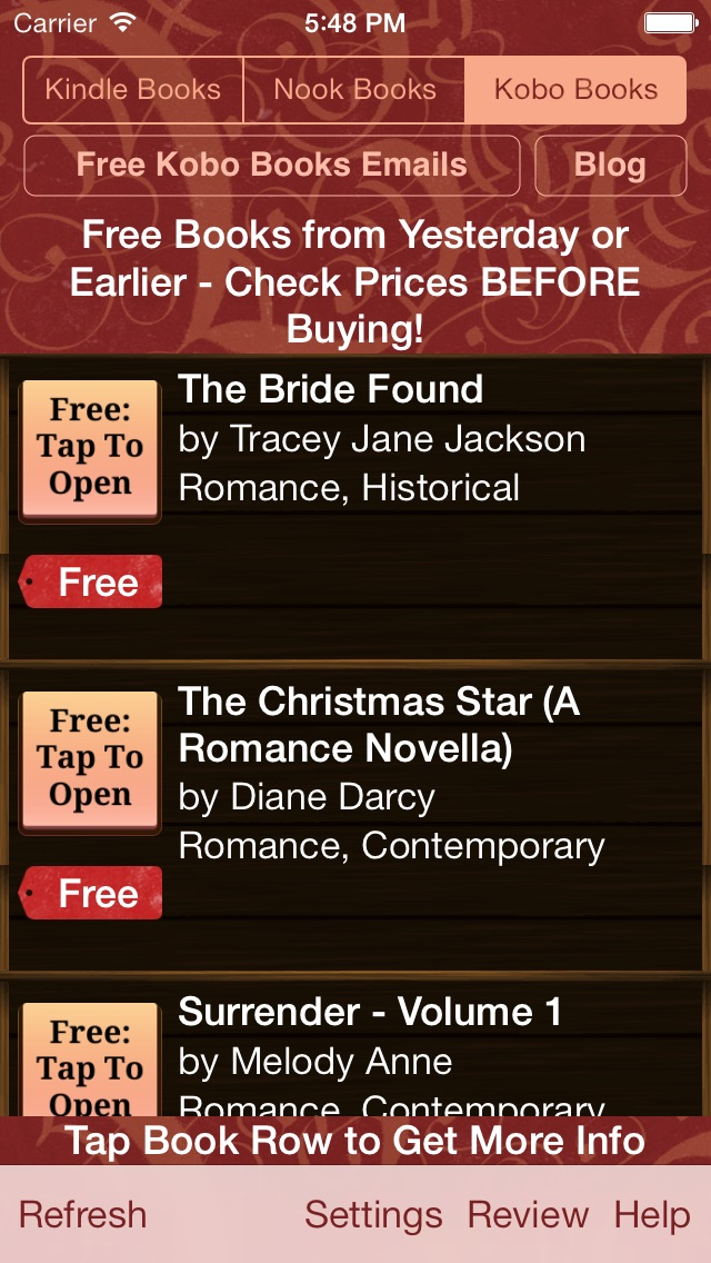 download Free Books for Kindle, Free Books for Nook, Free Books for Kobo - Free Books Monster apps 1