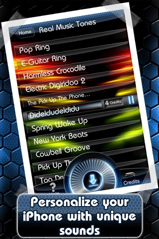 Deluxe Ringtones screenshot 4