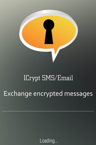 iCrypt SMS/Email screenshot 1