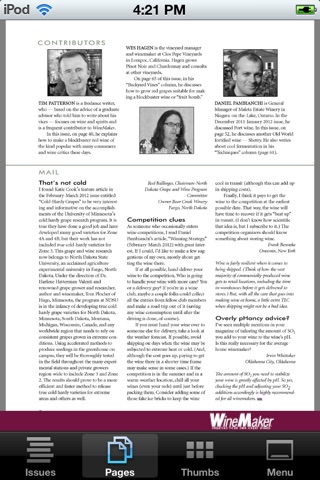 WineMaker Magazine Mobile Скриншоты5