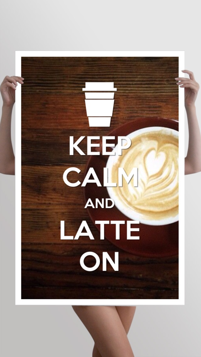 Keep Calm - Turn your instagram, facebook photos into Keep Calm poster with KeepCalmrScreenshot of 5