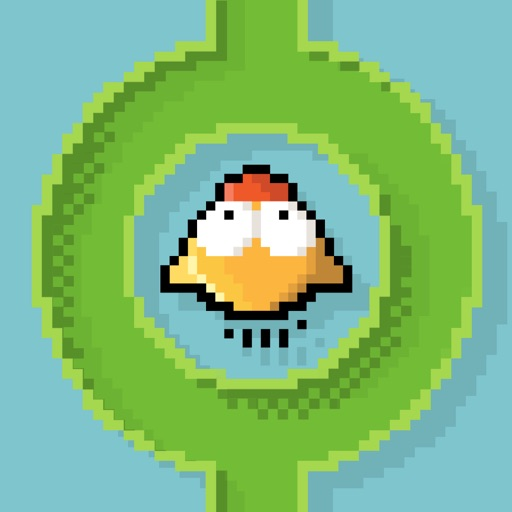 Flappy in The Pipe HD Full - Stay in The Line Fly in The Pipe iOS App