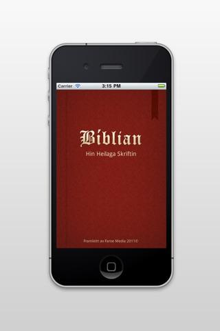 Bíblian screenshot 1