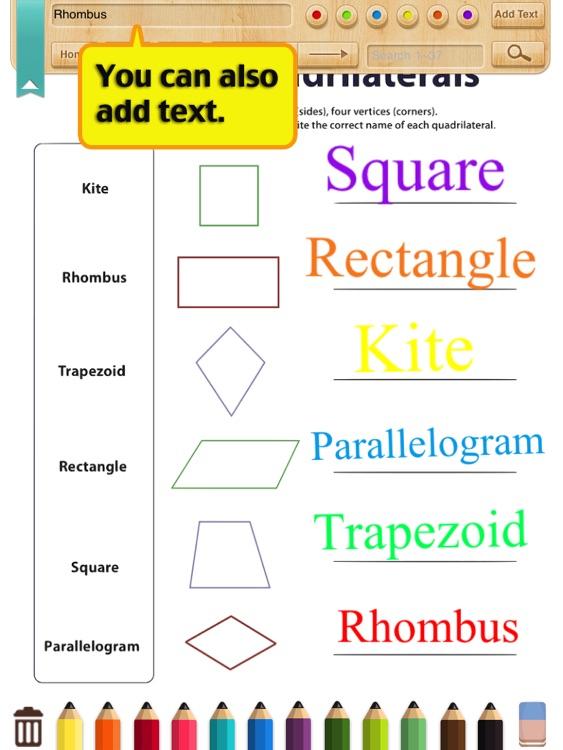 Kids Math-Geometry Worksheets(Grade 3) by ShiXian Li