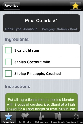 8,500+ Drink & Cocktail Recipes Pro screenshot 1