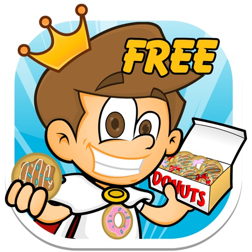 Donut King FREE - Candy Sugar Jump Adventure Icon