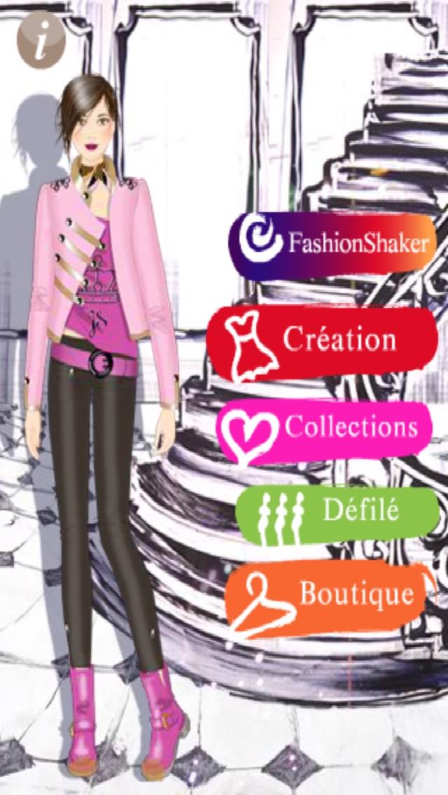 Jeune Styliste : le jeu pour créer ta mode Screenshot 1