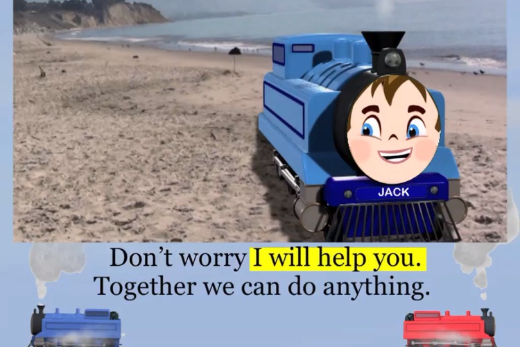Toy Train Story Read Along Episode 2