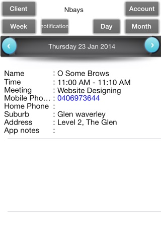Appointments Organizer screenshot 4