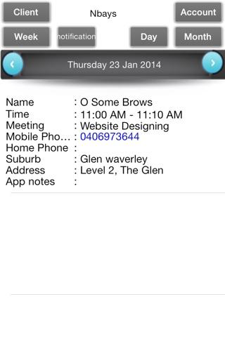 Appointments Organizer screenshot 4