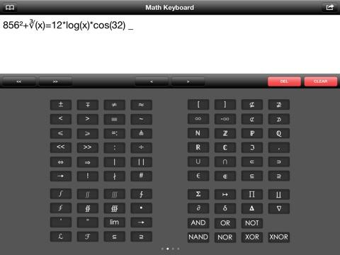 Screenshot #4 pour Math Keyboard