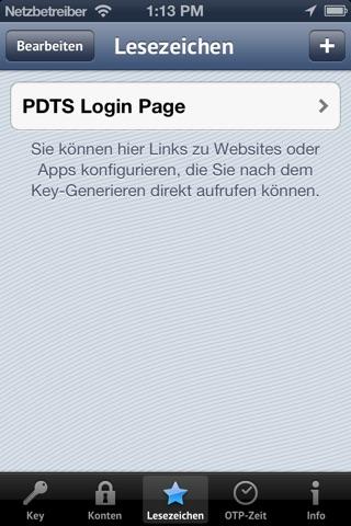 iOTP screenshot 4