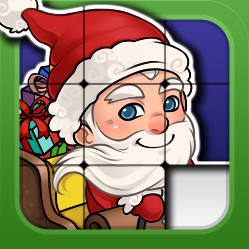 Christmas Sliding Puzzle iOS App