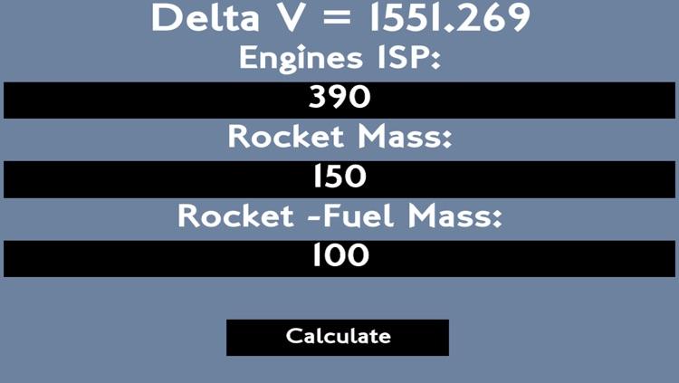 Delta V Calculator by Lucard, LLC