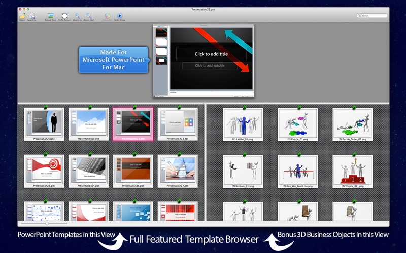 Powerpoint templates backgrounds for presentation with 3d screenshot 2 toneelgroepblik Image collections