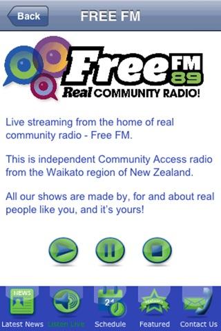 Free FM screenshot 1