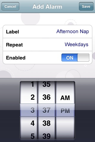 My Baby Clock screenshot 4