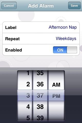 My Baby Clock screenshot 4