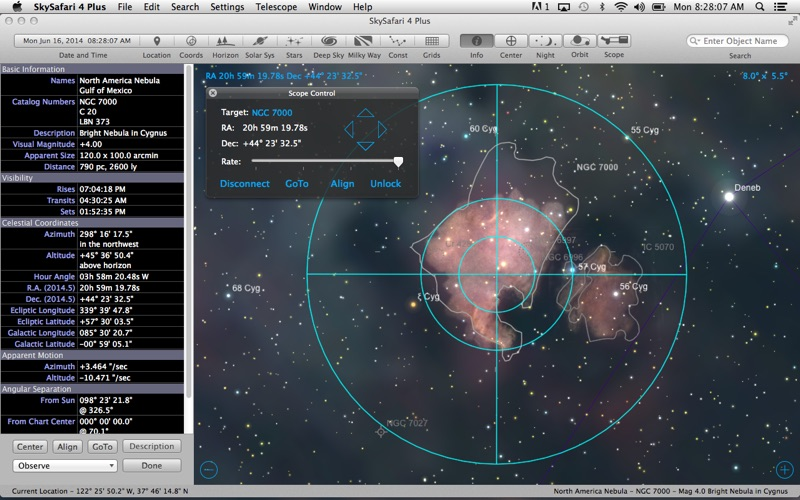 Screenshot #2 pour SkySafari 4 Plus