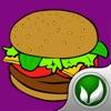 烹饪美味的食物:制作漢堡包免費