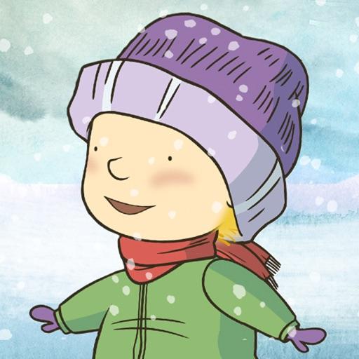 Hop! Dans la neige!: Une aventure de Stella et Sacha
