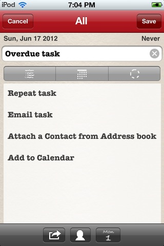 Daily Tasks (To Dos) screenshot 2