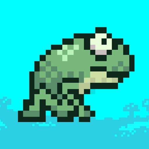 Splashy Frog-Flying and Jumping Obstacle Game iOS App